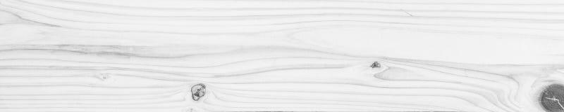 Fond propre blanc d'abstact de surface en bois de texture de panorama, photo stock