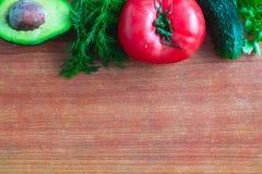 Fond propre sain de consommation, nourriture végétarienne et concept de nutrition de régime images stock