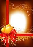 Fond/proue, billes et ornement de Noël Photo libre de droits