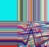 Fond psychédélique de problème Vieille erreur d'écran de TV Conception d'abrégé sur bruit de pixel de Digital Problème de photo S Photos stock