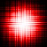 Fond psychédélique rouge d'oeil illustration de vecteur