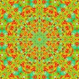 Fond psych?d?lique d'abr?g? sur hypnotique mod?le psychedelia color illustration stock