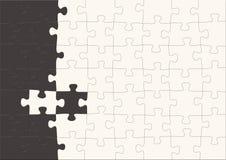 Fond - puzzles 3d Image libre de droits