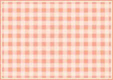 Fond quadrillé par rouge image stock
