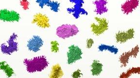 Fond/résumé texturisés colorés coloré/milieux et textures Image libre de droits