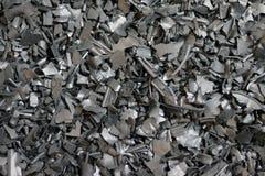 Fond réutilisé de paillis de pneus en caoutchouc Photographie stock
