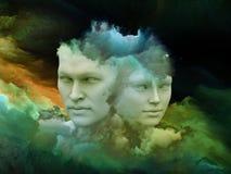 Fond rêveur Image libre de droits