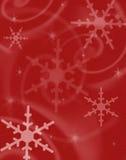 Fond rêveur de neige Illustration Libre de Droits