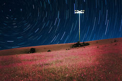 Fond rêveur de nuit Photos stock