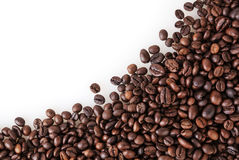 Fond rôti de grains de café Photos libres de droits