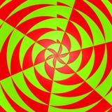 Fond radial de fraise et de pomme Images libres de droits