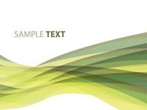 Fond rayé abstrait dans des sons olives Image stock