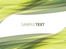 Fond rayé abstrait dans des sons olives Photo stock