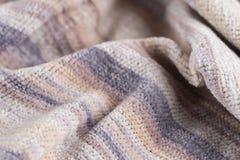 Fond rayé abstrait de tissu de texture Fond abstrait, vecteur Image libre de droits