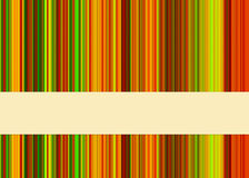 Fond rayé coloré Images libres de droits