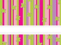 Fond rayé coloré Image libre de droits
