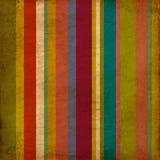 Fond rayé de modèle de papier peint de vintage Photo libre de droits