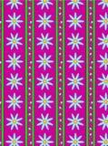 Fond rayé de papier peint de rose de flore de vecteur Photos libres de droits