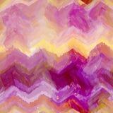 Fond rayé et onduleux grunge d'aquarelle Image libre de droits