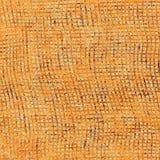 Fond rayé grunge de stockinet dans des couleurs oranges Images libres de droits
