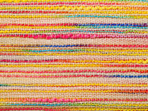 Fond rayé multicolore de tissu photo libre de droits