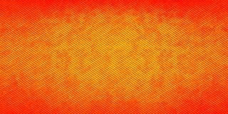 Fond rayé orange Photos stock