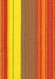 Fond rayé rouge de tissu Photos libres de droits