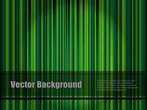 Fond rayé vert Image libre de droits
