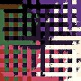 Fond rectangulaire chaotique coloré abstrait de modèle de casse-tête de peinture de Digital beau Images libres de droits