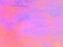 Fond rectangulaire rose abstrait avec le modèle de fractale Photos stock