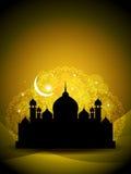 Fond religieux abstrait d'eid Photographie stock libre de droits