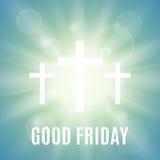 Fond religieux de Vendredi Saint Image stock