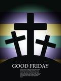 Fond religieux pour le Vendredi Saint. Photographie stock libre de droits