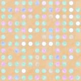 Fond repéré coloré en pastel Image stock