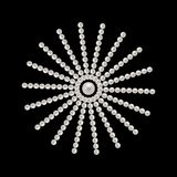 Fond romantique élégant avec le vecteur de perles illustration stock