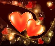 Fond romantique Image stock