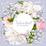 Fond romantique de fleur Photographie stock