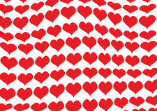 Fond romantique de valentine Images libres de droits