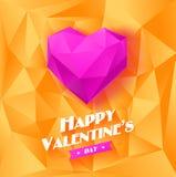 Fond romantique pour le jour de valentines Photo libre de droits