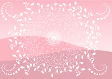 Fond rose Photographie stock