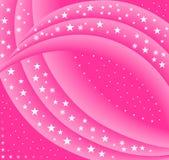 Fond rose abstrait 2 d'étoile illustration libre de droits