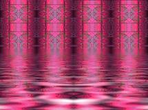 Fond rose abstrait Image libre de droits
