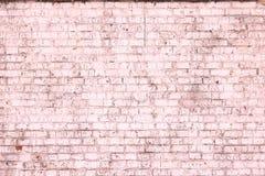 Fond rose abstrait saturé lumineux de vieux mur de briques images libres de droits