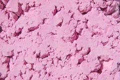 Fond rose-clair de poudre de couleur Couleurs lumineuses pour le festival indien de holi Poudre gulal et cosmétique colorée foyer image stock