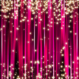 Fond rose d'étoiles d'étincelle Illustration de Vecteur