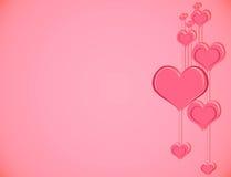 Fond rose d'amour. Illustration Libre de Droits