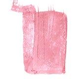 Fond rose de caramel Conception extérieure grunge de modèle Texture de lavages Image libre de droits
