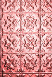 Fond rose de configuration de coeur Photographie stock libre de droits