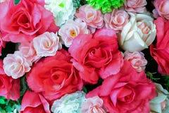 Fond rose de faux rose doux Image libre de droits
