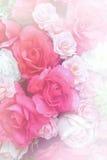 Fond rose de faux rose doux Images libres de droits
